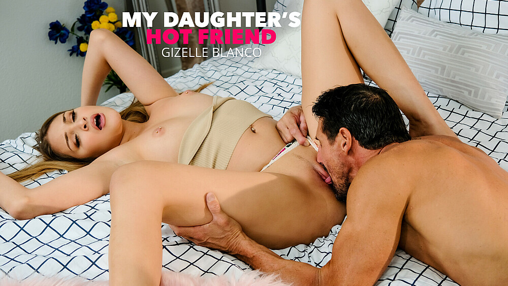 Gizelle Blanco get's her way and fucks her friends dad!!