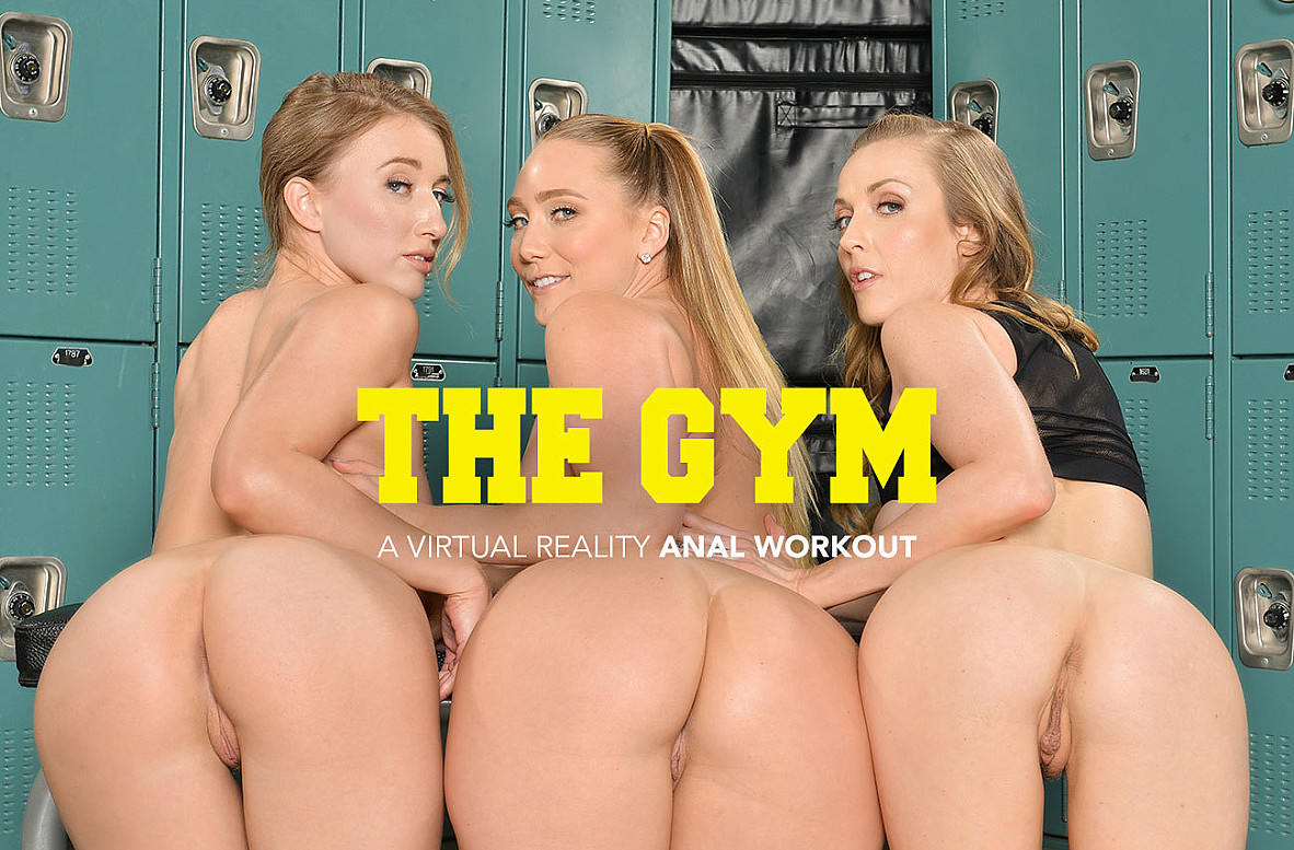 Watch AJ Applegate, Karla Kush, Riley Reyes and Bambino VR video in Naughty America