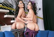 Abby Lee Brazil & Adriana Chechik & Ryan Driller in 2 Chicks Same Time