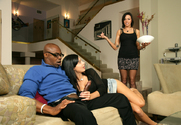 Aletta Ocean, Juelz Ventura & Sean Michaels in 2 Chicks Same Time - Sex Position 1