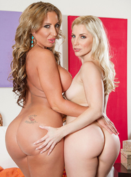 Richelle Ryan, Ashley Fires & Chad White in 2 Chicks Same Time - Centerfold