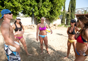Hunter Bryce, Sadie Swede, Chanel Preston, Kortney Kane & Johnny Sins in 2 Chicks Same Time - Sex Position 1