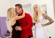 Tasha Reign & Lolly Ink & Johnny Castle in 2 Chicks Same Time story pic