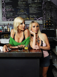 Bartender Porn Video with Big Tits and Blonde scenes