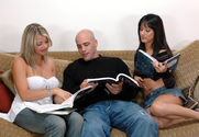 Nadia Styles, Vicky Vette & Derrick Pierce in Diary of a Milf - Sex Position 1