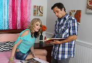 Allie James & Alan Stafford in Fast Times - Sex Position 1