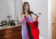 Karina White & Damon Dice in Housewife 1 on 1 story pic