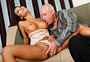Asa Akira & Jenner in I Have a Wife - Sex Position 1