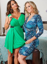 Julia Ann, Ava Addams & Johnny Castle in I Have a Wife - Centerfold