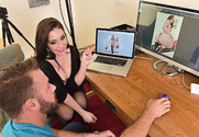 Gracie Glam & Chad White in I Have a Wife story pic