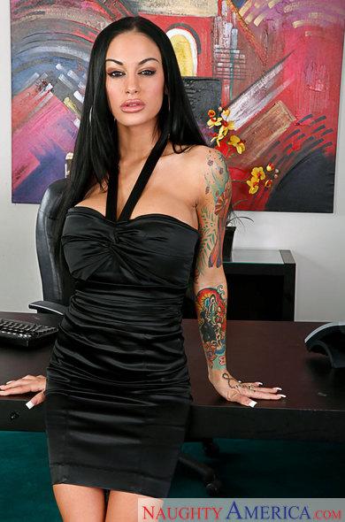 Latex fetish dress