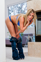 Samantha Saint starring in Bad Girlporn videos with Ass smacking and Big Dick
