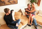 Abbey Brooks & Danny Wylde in My Friend's Hot Girl - Sex Position 1