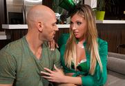 Samantha Saint & Johnny Sins in My Friend's Hot Girl - Sex Position 1