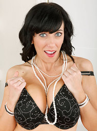 Cougar & Friend Porn Video with Big Tits and Black Hair scenes