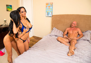 Ava Addams, Romi Rain & Johnny Sins in My Friends Hot Mom - Sex Position 1