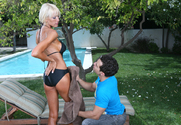 Bianca Noble & Mikey Butders in My Friend's Hot Mom story pic