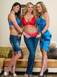 Julia Ann, Brandi Love, Eva Karera & Johnny Castle in My Friends Hot Mom - Centerfold