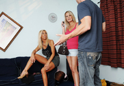 Misty Vonage, Bridgett Lee & Johnny Sins in My Friends Hot Mom - Sex Position 1