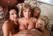Deauxma, Julia Ann, Holly Halston, Darla Crane & Michael Vegas in My Friends Hot Mom - Sex Position 2