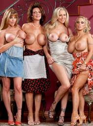 Deauxma, Julia Ann, Holly Halston, Darla Crane & Michael Vegas in My Friends Hot Mom - Centerfold