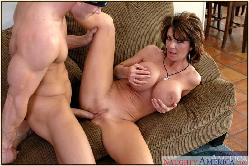 Porn star Mrs. Deauxma #4 giving a blowjob