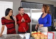 Deauxma, Gulliana Alexis & Johnny Castle in My Friend's Hot Mom - Sex Position 1