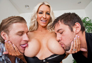 Emma Starr, Johnny Castle & Michael Vegas in My Friends Hot Mom - Sex Position 2