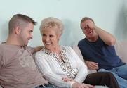 Mrs. Jewell & Jeremey Holmes & Kris Slater in My Friend's Hot Mom story pic