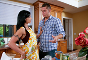 Jewels Jade & Danny Mountain in My Friends Hot Mom - Sex Position 1