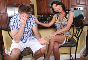 Lezley Zen & Levi Cash in My Friends Hot Mom - Sex Position 1