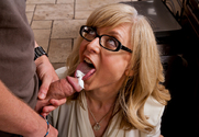 Nina Hartley & Dane Cross in My Friends Hot Mom - Sex Position 2