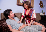 Veronica Avluv & Seth Gamble in My Friends Hot Mom - Sex Position 1