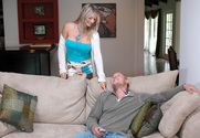 Vicky Vette & Scott Nails in My Friends Hot Mom - Sex Position 1