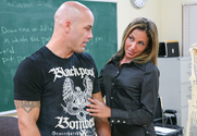 Adriana Deville & Derrick Pierce in My First Sex Teacher - Sex Position 1
