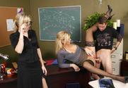 Alana Evans & Darryl Hanah & Kris Slater in My First Sex Teacher
