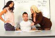 Ava Addams, Alura Jenson & Johnny Castle in My First Sex Teacher - Sex Position 1