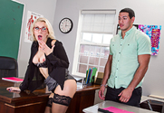 Ashley Fires & Tony Martinez in My First Sex Teacher - Sex Position 1