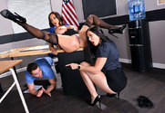 Ava Addams & Rachel Starr & Van Wylde in My First Sex Teacher