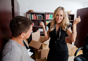Brandi Love & Bruce Venture in My First Sex Teacher - Sex Position 1