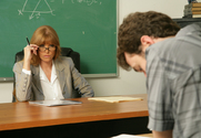 Darla Crane & James Deen in My First Sex Teacher - Sex Position 1