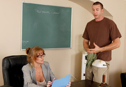 Darla Crane & Jordan Ash in My First Sex Teacher - Sex Position 1