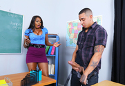Diamond Jackson & Bruno Dickemz in My First Sex Teacher - Sex Position 1