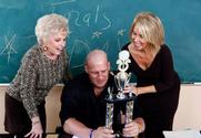 Mrs. Jewell & Erica Lauren & Christian in My First Sex Teacher