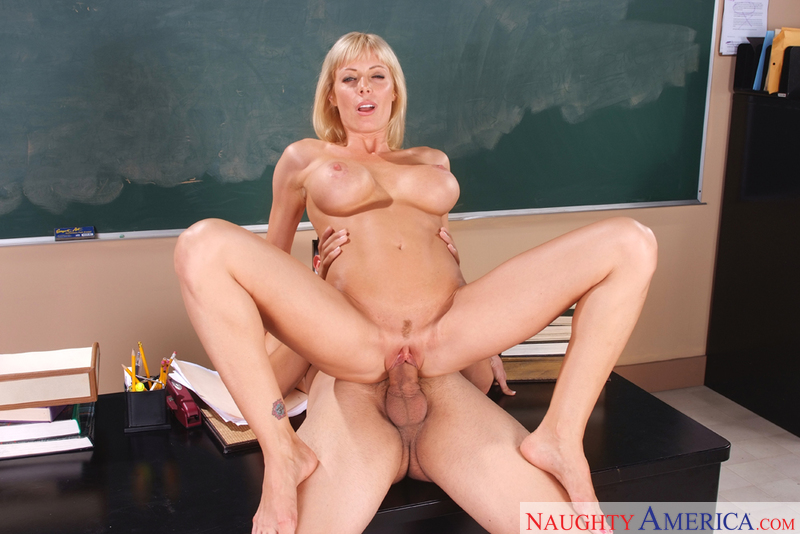 sexy blonde teacher holly sampson
