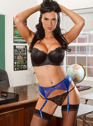 Jasmine Jae & Ryan Ryder in My First Sex Teacher - Centerfold