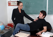 Katrina Isis & Tommy Pistol in My First Sex Teacher story pic