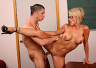 Kayla Synz & Alex Gonz in My First Sex Teacher - Sex Position 3