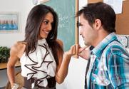 Lyla Storm & Kris Slater in My First Sex Teacher - Sex Position 1