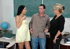 Mrs. Milan #2 & Haley Paige - Sex Position 1